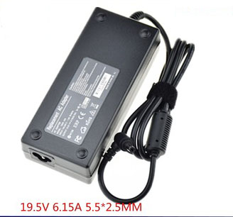 120W Cargador MSI MS-16GA 937-16GA22-009 937-16GA12-005 adapter